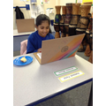 Our breakfast club made their own laptops with messages on how to stay safe online!