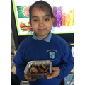 We are all really proud of our healthy salads that we have made!