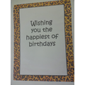 Birthday wishes from our Year 6 Leopards