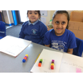 We have been exploring quarters of numbers!