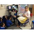 Mrs Hester became a storyteller!