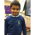 We are so proud of you Muhammad! Welcome to the School Council.