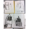 Charcoal drawings of Blackburn Cathedral!