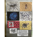Leopard's Art Display Board Summer 1