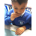We have been tasting a range of vegetables ahead of making our own salads!