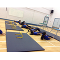 Yr5 Panther's gymnastics