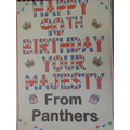 Birthday wishes from our Year 5 Panthers