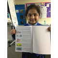 Our Y2 Dolphins proud of their Big Writing all about Safety Week!