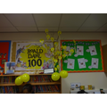 Our Roald Dahl display in the library