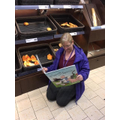 Meditating in the supermarket?