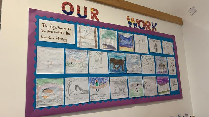 Some wrote their own inspirational quotes to go with the illustrations.