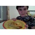 Leo made dinner