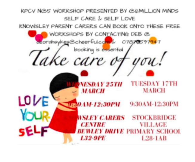 Take Care of You workshop