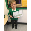 Award winner for KS1 The Arts