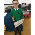 Award winner for KS2 English