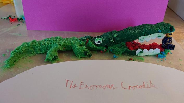 Imogen's Enormous Crocodile