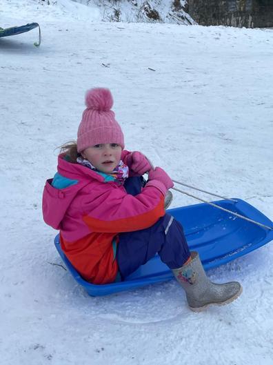 Lexi sledging!