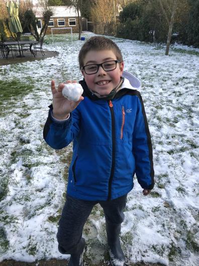 John and his snowball