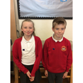 House Captains Grace and William