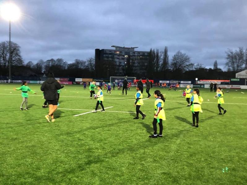 Girl's Tag Rugby Final