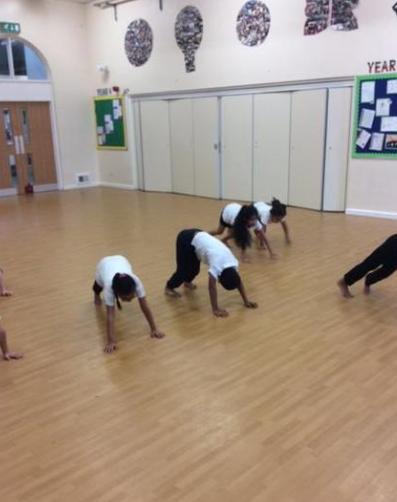 Year 2 Practising Balance Skills