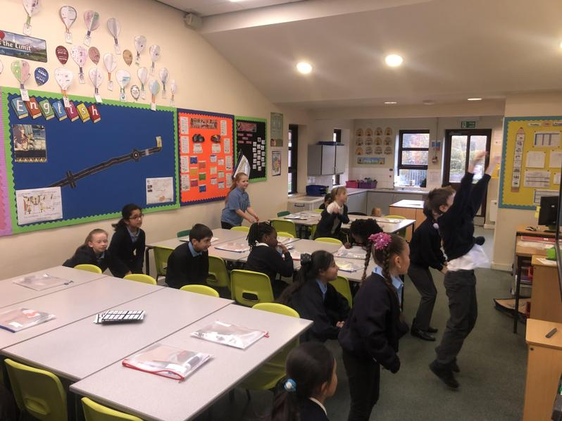 4NB Doing the Class Physical Activity