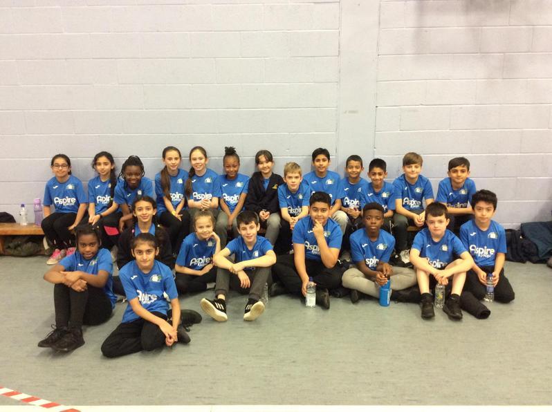 Year 5/6 Sportshall Athletics Team