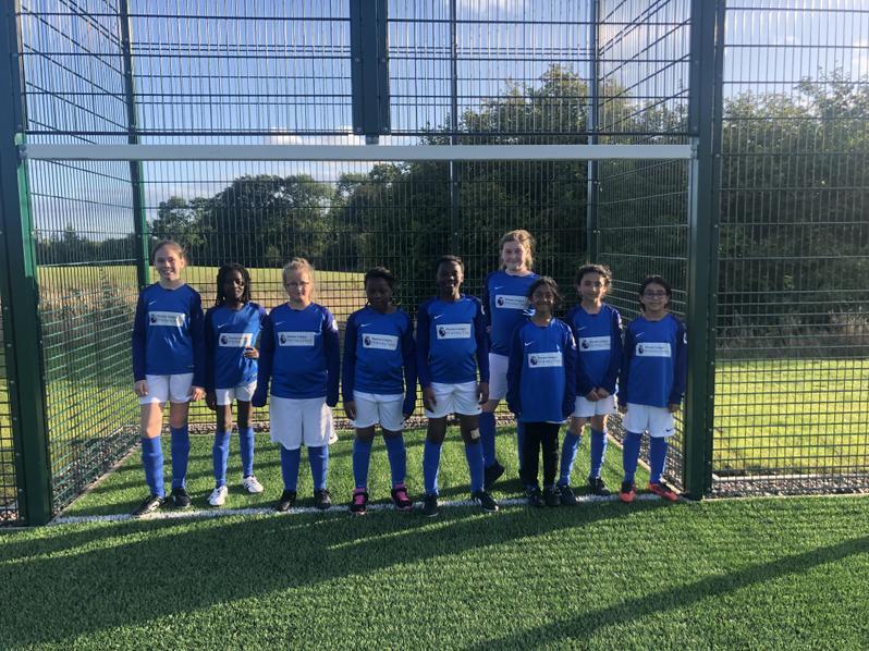 Girl's Football Team First League Match