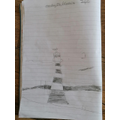 Fletcher's sketch of Smeaton's Tower