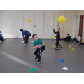 How quickly can you pick up 4 cones whilst keeping the balloon in the air?