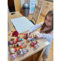 Ella-Grace using objects to subtract