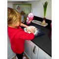 Ava made bread!