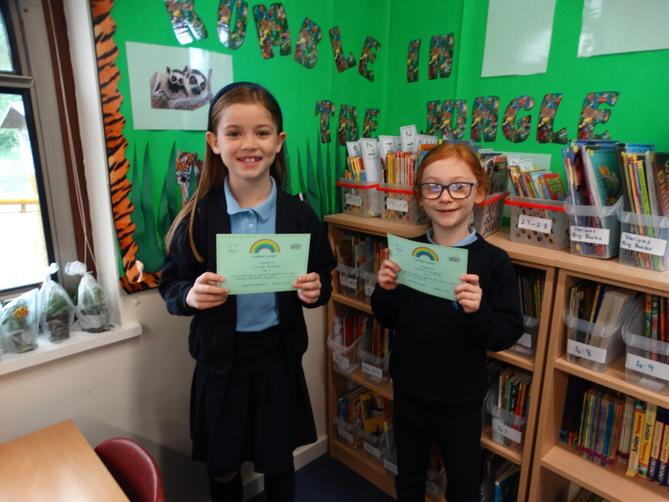 Awarded for trying hard and having a go at things which may be tricky.