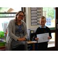 Congratulations to the winner of the St Michael's Church Gargoyle Competition.