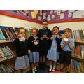 Our first prize draw winners.