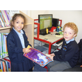 Fundraising supplied new books for our library.