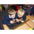 Year 1 using our laptops
