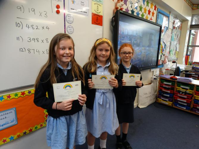 Awarded for showing respect for their own and others learning