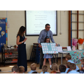 Year 2 pupil moving on