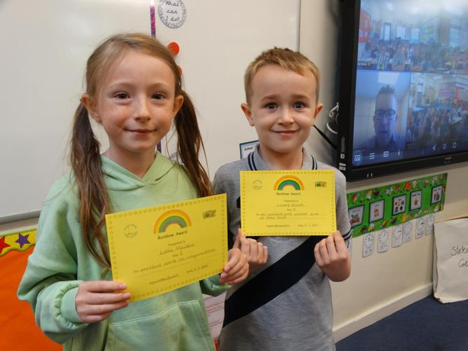 Awarded for super conjunctions and super behaviour.