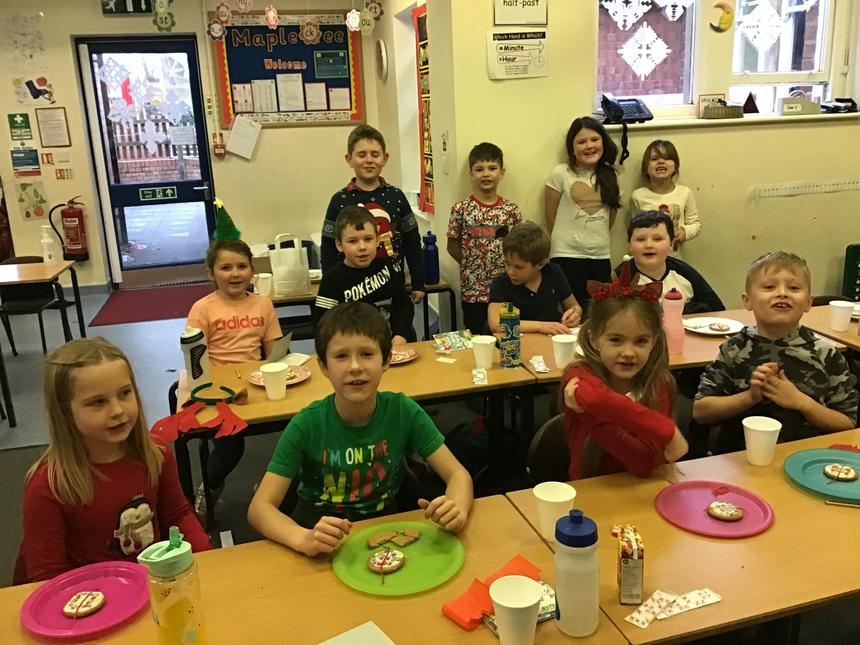 Maple Class Christmas Party