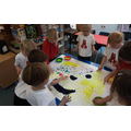 Finger painting Pudsey