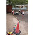 Making an obstacle course