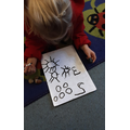 Representing numbers to 5