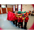 Group 1 being the dragon