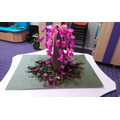 The cherry blossom we made with Year 1