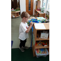 Measuring things in our room