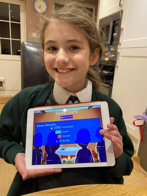 Isabella (Hazel) Amazing gig result 100/100!