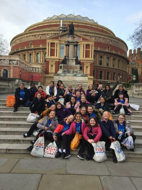We're at the Royal Albert Hall!