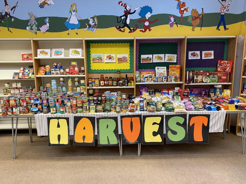 Our Harvest Donations